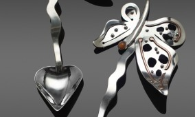 Butterfly Java, coffee spoons